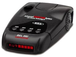 BEL 990 International Radar Detector