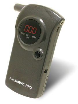 AlcoHAWK PRO - Breath Alcohol Screener
